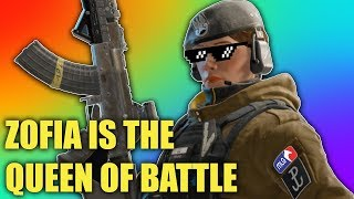 QUEEN ZOFIA! - Rainbow Six Siege