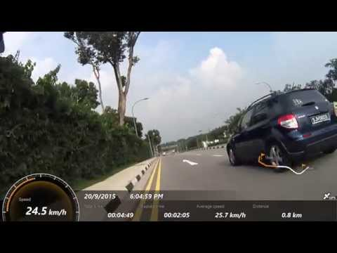 Cycling in Singapore: Rural Areas (Sep 20, 2015)