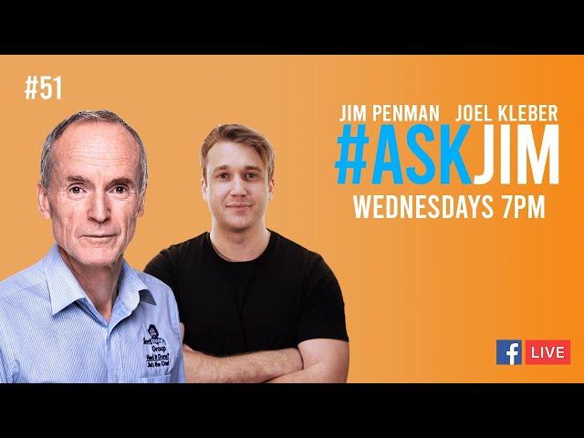 #ASKJIM 51 with CEO and Founder of Jim's, Jim Penman and host Joel Kleber - www.jims.net