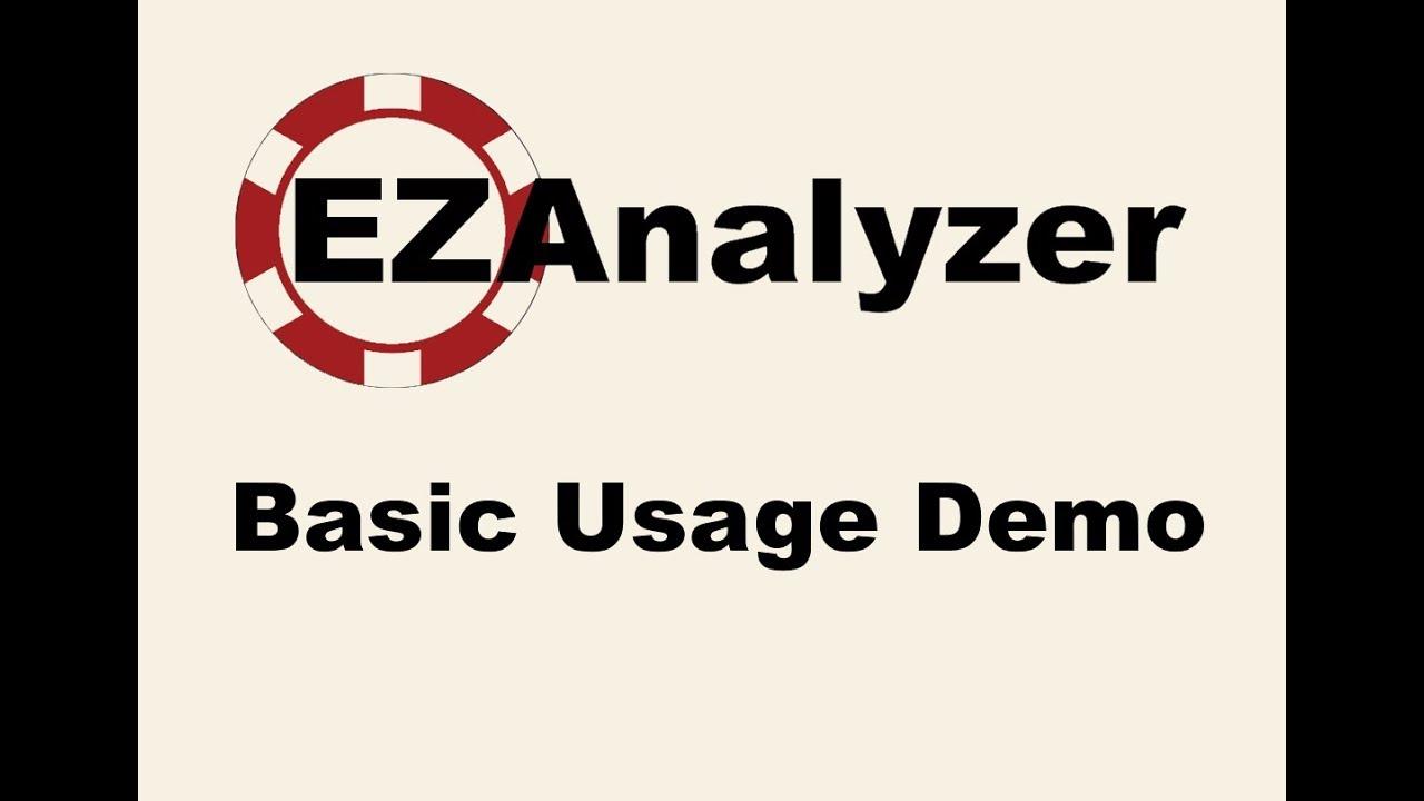 Poker Hand Analysis Software - EZAnalyzer