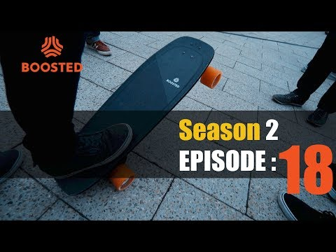 The NYC Electric Skateboard Crew Season 2 Episode 18: Hello Boosted Board Mini S