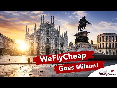 ✈ WeFlyCheap goes Milaan! 👠