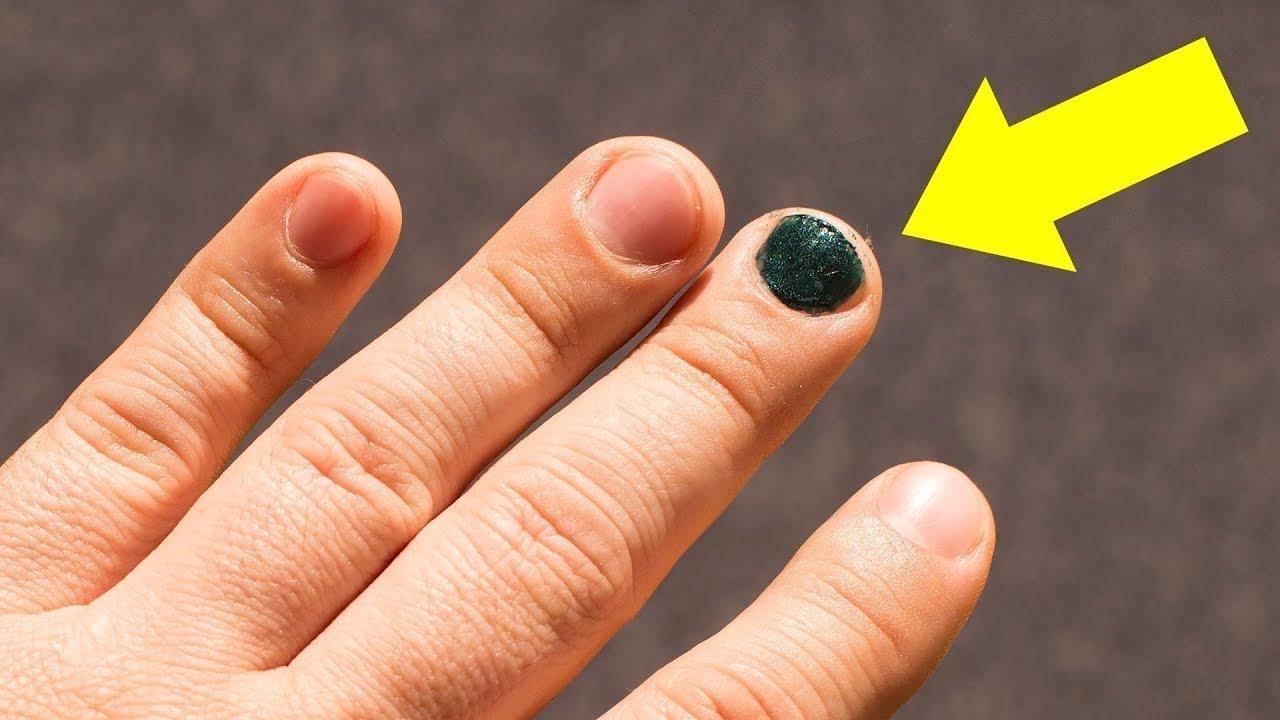 Bedeutung männer nagellack schwarzer Ein lackierter