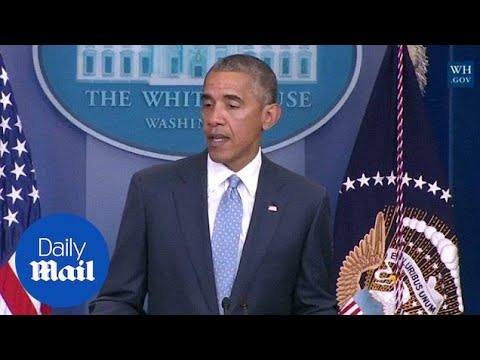 Obama on Baton Rouge police shooting: Justice will be done - Daily Mail