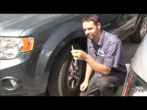 How To Check Tire Tread Wear Penny Test Youtube