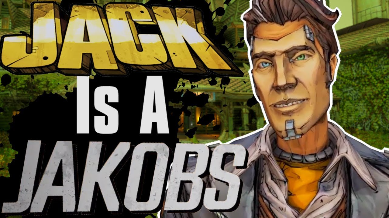 Handsome Jack Married A Jakobs Borderlands 3