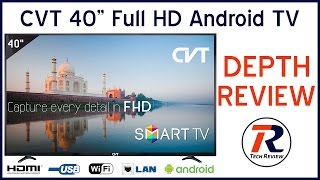 CVT 4000S 101 CM 40 Full HD SMART LED TV Full Depth Review