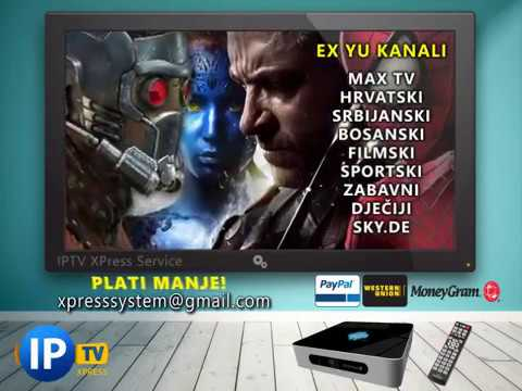 XPress IPTV - EX YU kanali