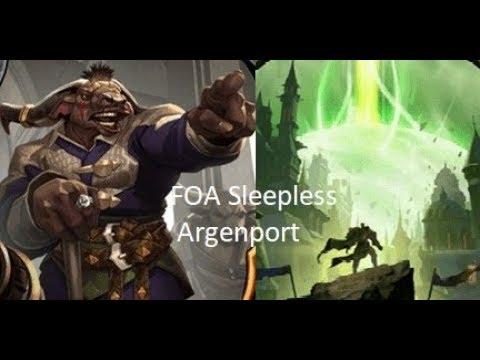 FOA Sleepless Argenport