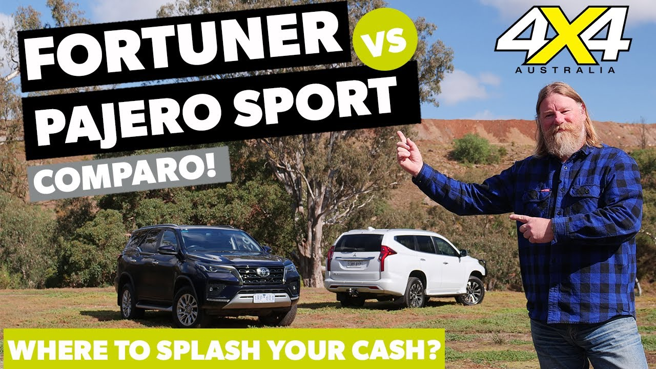 Toyota Fortuner Crusade versus Mitsubishi Pajero Sport Exceed | 4X4 Australia