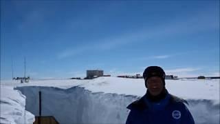 Voeux Ice Memory Jérôme Chappellaz depuis Concordia