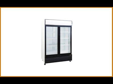 Procool Refrigeration 1000 Liter Display Beverage Cooler Merchandiser Refrigerator Review