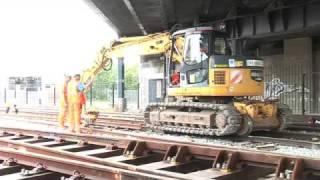 Taylor Woodrow VINCI Dockland Light Railway DLR Update 3 - Construction Video Gateway Media CSR H&S