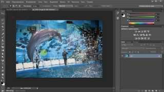 Урок Adobe Photoshop CS6. Автоматическая маска
