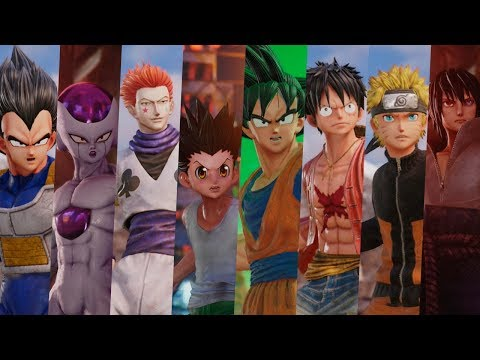 All Unique Abilities in Jump Force Beta