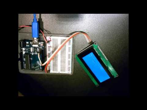 arduino uno - 20x4 LCD shows alternating blank lines