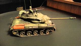Tamiya 1/35 scale M41 Walker Bulldog past build