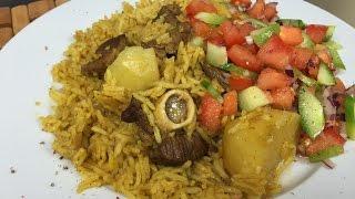 Lamb Pilau & Kachumbari