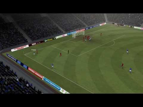 Sampdoria vs Reggina - Dessena Goal 56 minutes