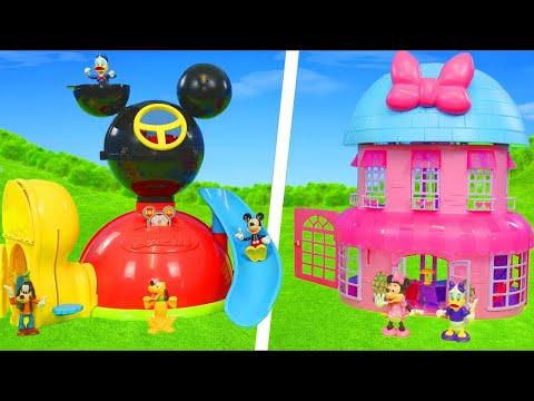 Brinquedos Da Minnie E Mickey - Bonecas , Brinquedos De Cozinha E Carrinhos  - Minnie Mouse Toys