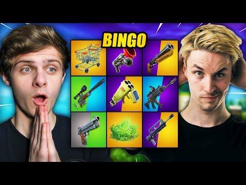 EXTREME BINGO #3 | Fortnite Mini-Game ft. LinkTijger