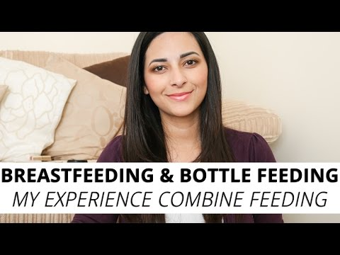 Mixing Breastfeeding and Formula Feeding