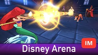 Disney Sorcerer's Arena Android iOS Gameplay