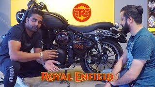Royal Enfield Modification / Modified Bullet at Rideofy - King Indian