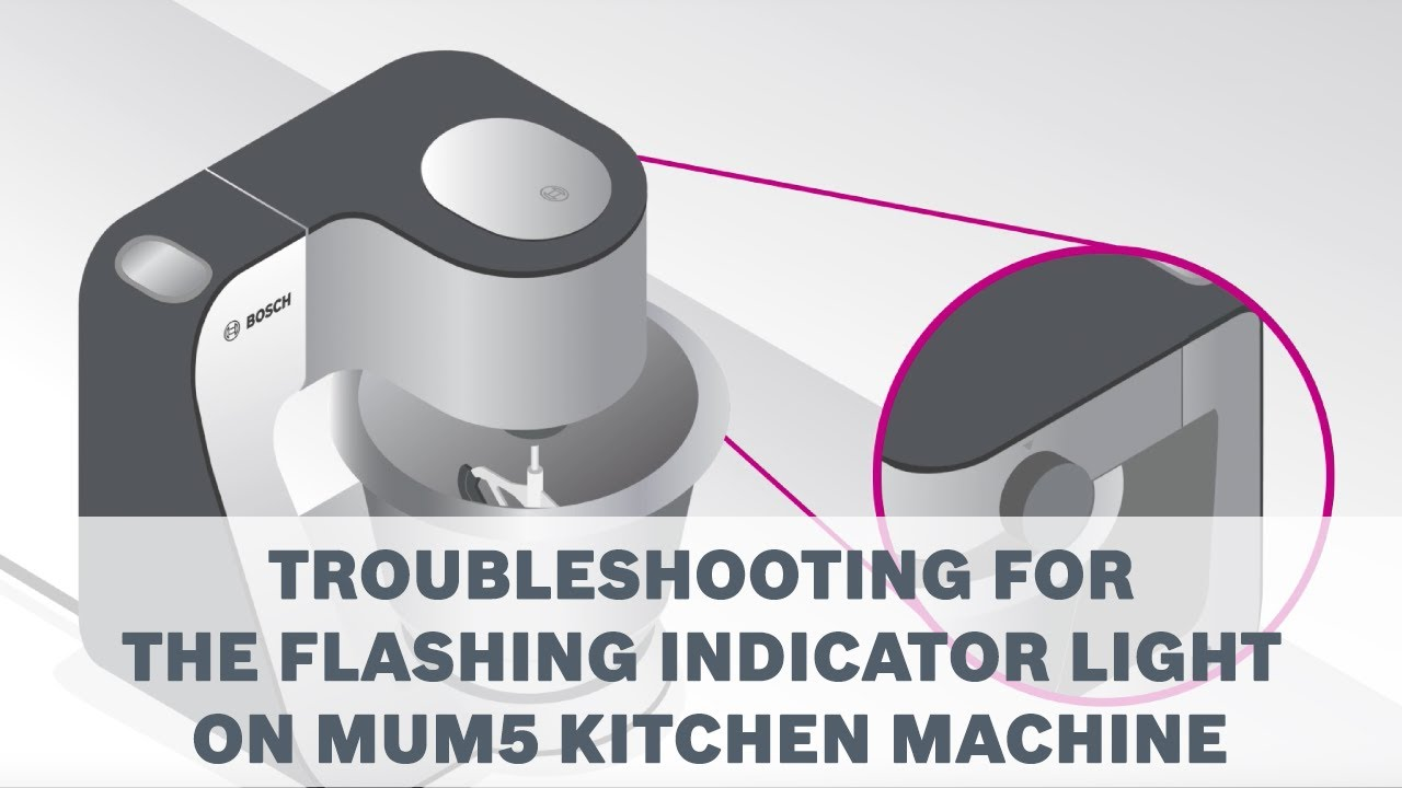 How To Troubleshoot When The Indicator Light Flashes On Your Bosch
