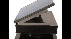 Do solar attic fans work? Actual temperature test.