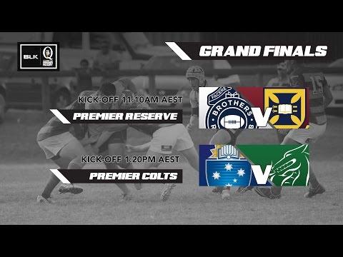 BLK Queensland Premier Rugby: Premier Reserve and Premier Colts Grand Finals