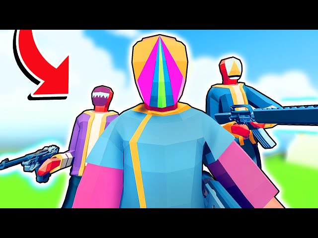 NEW Unit Creator! - I Made The ORIGINAL NEON FACTION - TABS Totally Accurate Battle Simulator