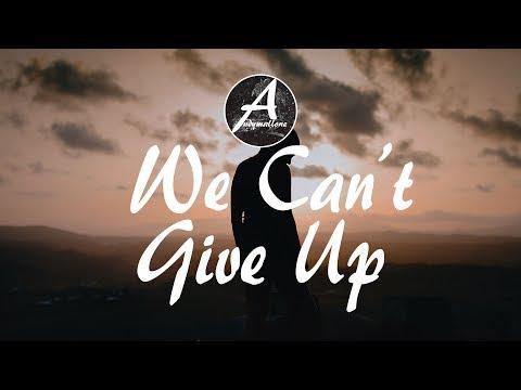 EDX - We Can´t Give Up (Lyrics / Lyric Video) Alvin Eldin Remix
