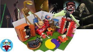 КОМНАТА СТРАХА ТРЕВОРА ХЕНДЕРСОНА  Trevor Hendersons Monsters With Clay