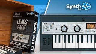 KORG MICROKORG LEADS PACK V1 BY LEADSOUNDS ( Space4Keys Keyboard Solo )
