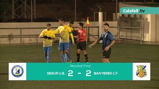 Calafell Esportiu   Fútbol   UE Segur 2-2 CF Banyeres