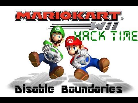 [MKWii] Hack Time: Disable Boundaries