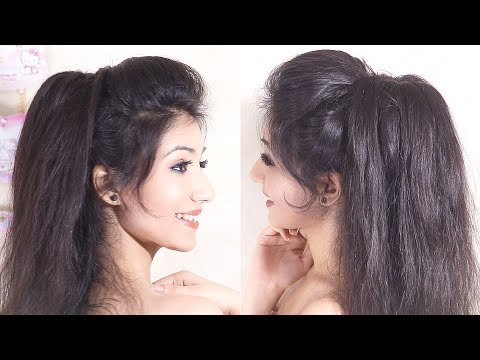 Amazing Volumized Ponytail Hairstyle