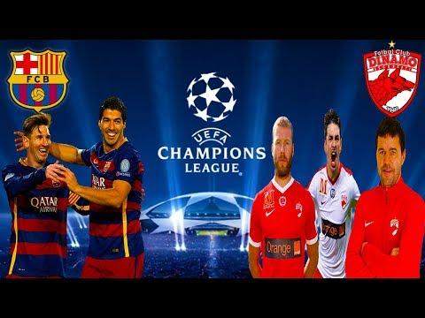 FC Barcelona vs Dinamo Bucuresti - Meci Infernal In Grupele Uefa Champions League