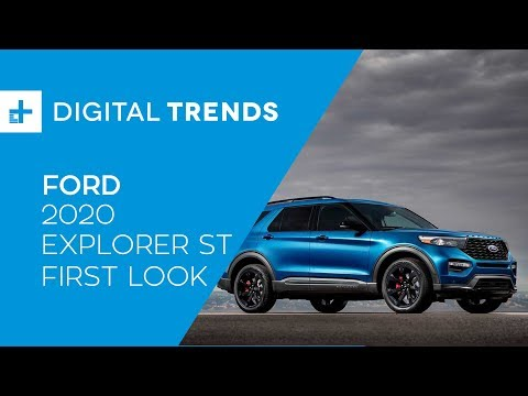 2020 Ford Explorer ST & Hybrid - First Look at Detroit Auto Show 2019
