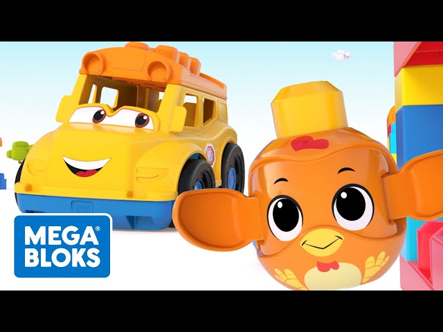 Mega Bloks™ - Mega Bloks Okul Macerası | çocuk çizgi filmleri | Fisher-Price | öğrenme videoları