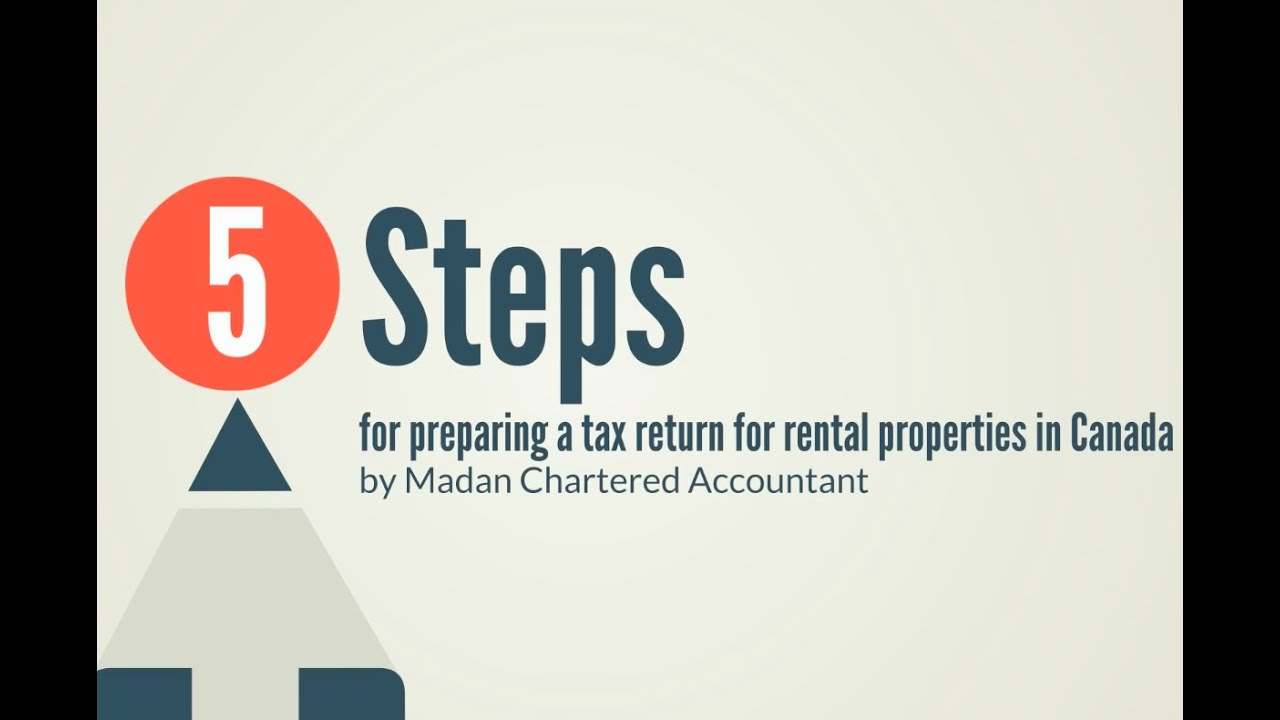 How to Prepare Tax Returns For Rental Properties in Canada