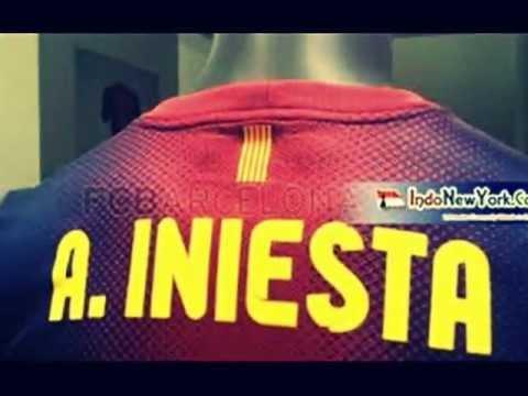 af26f0c7cda Official FC Barcelona 2012 2013 Kit - YouTube