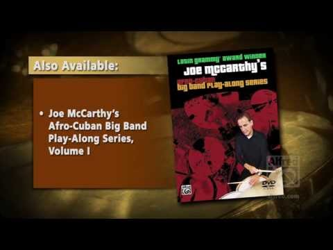 Drums  Trailer  Joe McCarthys AfroCuban Big Band PlayAlong Series, Volume 2
