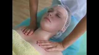 Лимфодренажный массаж лица смотреть видео.
