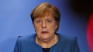 Das sind die neuen Corona-Regeln für Deutschland: Das komplette Merkel-Statement im Video