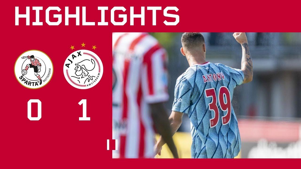 Спарта Роттердам  0-1  Аякс видео