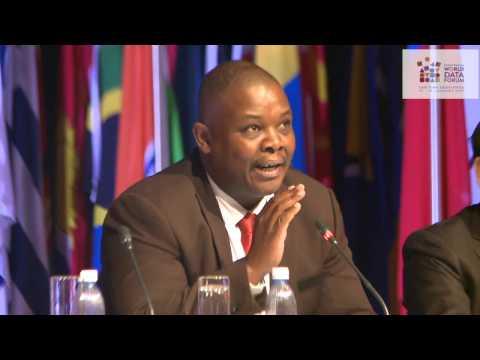 UN World Data Forum: Gauteng MEC: Jacob Mamabolo