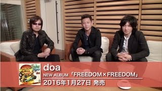 doa 10th Album「FREEDOM×FREEDOM」全曲紹介