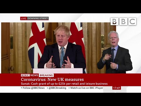 Coronavirus: Boris Johnson 'We Must Act Like Any Wartime Government' 🔴 @BBC News - BBC